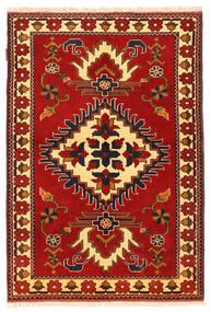 Kazak Matto 106X158 Itämainen Käsinsolmittu Ruoste/Tummanruskea (Villa, Pakistan)