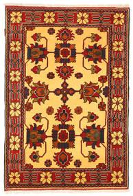 Kazak Matto 102X160 Itämainen Käsinsolmittu Ruoste/Vaaleanruskea (Villa, Pakistan)