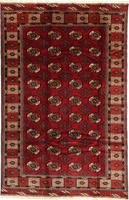 Turkaman Matto 187X290 Itämainen Käsinsolmittu Tummanpunainen/Tummanruskea (Villa, Persia/Iran)