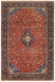 Sarough Old Matto 404X600 Itämainen Käsinsolmittu Tummanpunainen/Tummanruskea Isot (Villa, Persia/Iran)