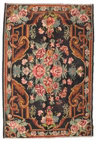Ruusukelim Moldavia Matto 184X277 Itämainen Käsinkudottu Musta/Tummanharmaa (Villa, Moldova)