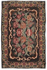 Ruusukelim Moldavia Matto 186X280 Itämainen Käsinkudottu Tummanruskea/Tummanpunainen (Villa, Moldova)