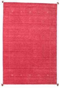 Loribaf Loom Matto 189X288 Moderni Käsinsolmittu Punainen/Pinkki (Villa, Intia)