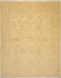 Tabriz 50 Raj Silkillä Matto 205X252 Itämainen Käsinsolmittu Tummanbeige/Keltainen (Villa/Silkki, Persia/Iran)