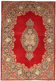 Kerman Patina Matto 269X388 Itämainen Käsinsolmittu Ruoste/Tummanruskea Isot (Villa, Persia/Iran)