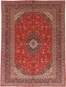Keshan Matto 292X395 Itämainen Käsinsolmittu Tummanpunainen/Ruoste Isot (Villa, Persia/Iran)