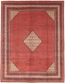 Sarough Mir Matto 280X368 Itämainen Käsinsolmittu Tummanpunainen/Vaaleanpunainen Isot (Villa, Persia/Iran)