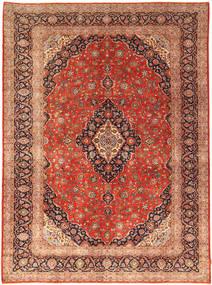 Keshan Matto 302X414 Itämainen Käsinsolmittu Ruoste/Tummanruskea Isot (Villa, Persia/Iran)