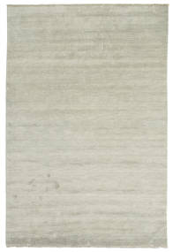 Handloom Fringes - Harmaa/Vaaleanvihreä Matto 200X300 Moderni Vaaleanharmaa/Vaaleanruskea (Villa, Intia)