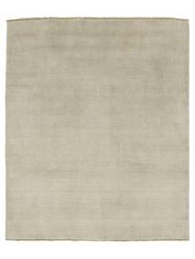 Handloom Fringes - Harmaa/Vaaleanvihreä Matto 200X250 Moderni Vaaleanharmaa (Villa, Intia)