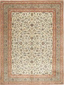 Kashmar Patina Matto 297X393 Itämainen Käsinsolmittu Tummanbeige/Vaaleanruskea Isot (Villa, Persia/Iran)