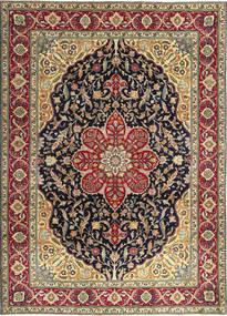 Tabriz Patina Matto 250X348 Itämainen Käsinsolmittu Tummanpunainen/Musta Isot (Villa, Persia/Iran)