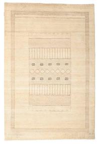 Gabbeh Loribaft Matto 150X222 Moderni Käsinsolmittu Beige/Vaaleanruskea (Villa, Intia)