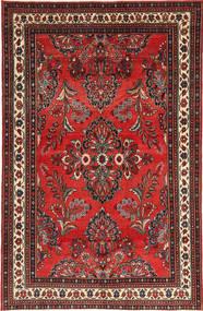 Lillian Patina Matto 181X282 Itämainen Käsinsolmittu Tummanpunainen/Ruoste (Villa, Persia/Iran)