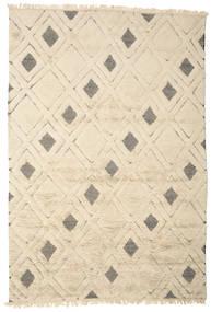 Yoko Matto 200X300 Moderni Käsinsolmittu Beige/Vaaleanharmaa (Villa, Intia)