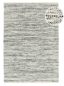 Hugo - Musta/Harmaa Matto 140X200 Moderni Käsinkudottu Vaaleanharmaa/Tummanbeige ( Intia)
