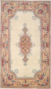Kerman Royal Allekirjoitettu: Parta Matto 285X504 Itämainen Käsinsolmittu Beige/Tummanruskea Isot (Villa, Persia/Iran)