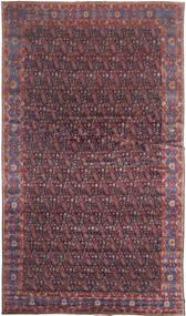 Senneh Matto 368X639 Itämainen Käsinsolmittu Tummanruskea/Violetti Isot (Villa, Persia/Iran)