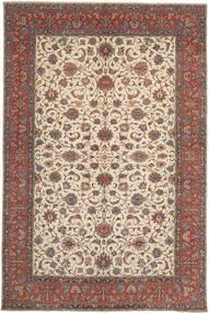 Sarough Matto 346X523 Itämainen Käsinsolmittu Tummanpunainen/Beige Isot (Villa, Persia/Iran)