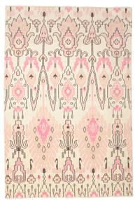 Taylor Matto 200X300 Moderni Käsinsolmittu Beige/Vaaleanpunainen (Villa, Intia)