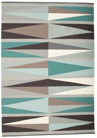 Terence Matto 160X230 Moderni Käsinkudottu Vaaleanharmaa/Beige (Villa, Intia)