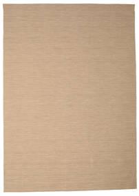 Kelim Loom - Beige Matto 250X350 Moderni Käsinkudottu Vaaleanruskea/Vaaleanharmaa Isot (Villa, Intia)