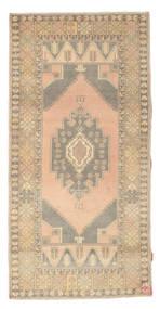 Colored Vintage Matto 102X205 Moderni Käsinsolmittu Tummanbeige/Vaaleanharmaa (Villa, Turkki)