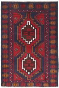 Beluch Matto 88X130 Itämainen Käsinsolmittu Tummanharmaa/Ruoste (Villa, Afganistan)