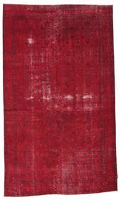 Colored Vintage Matto 168X284 Moderni Käsinsolmittu Punainen/Tummanpunainen (Villa, Turkki)