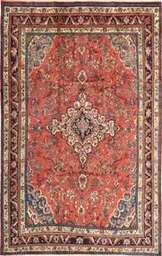 Hamadan Matto 215X340 Itämainen Käsinsolmittu Tummanpunainen/Ruskea (Villa, Persia/Iran)