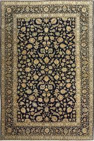 Keshan Patina Matto 255X385 Itämainen Käsinsolmittu Musta/Vaaleanruskea Isot (Villa, Persia/Iran)