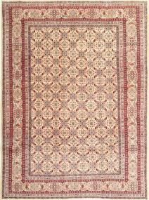 Hamadan Patina Matto 260X357 Itämainen Käsinsolmittu Vaaleanruskea/Tummanruskea Isot (Villa, Persia/Iran)