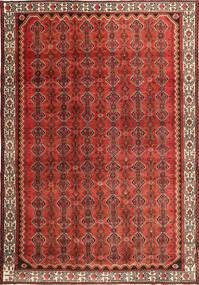 Hamadan Patina Matto 260X383 Itämainen Käsinsolmittu Tummanruskea/Ruoste/Tummanpunainen Isot (Villa, Persia/Iran)