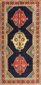 Ardebil Matto 145X303 Itämainen Käsinsolmittu Käytävämatto Tummanvioletti/Tummanpunainen (Villa, Persia/Iran)