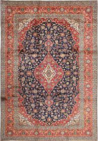 Keshan Matto 252X365 Itämainen Käsinsolmittu Tummanpunainen/Tummanharmaa Isot (Villa, Persia/Iran)
