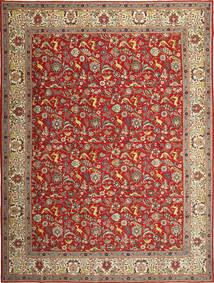 Tabriz Patina Matto 290X390 Itämainen Käsinsolmittu Ruoste/Vaaleanruskea Isot (Villa, Persia/Iran)
