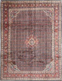 Hamadan Shahrbaf Matto 274X358 Itämainen Käsinsolmittu Tummanruskea/Vaaleanharmaa Isot (Villa, Persia/Iran)