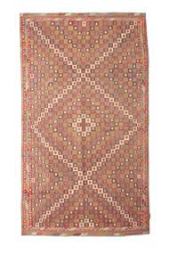 Kelim Semiantiikki Turkki Matto 167X290 Itämainen Käsinkudottu Tummanpunainen/Vaaleanruskea/Ruoste (Villa, Turkki)