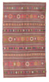 Kelim Semiantiikki Turkki Matto 160X281 Itämainen Käsinkudottu Tummanpunainen/Ruoste (Villa, Turkki)