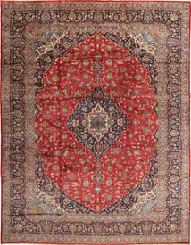 Keshan Matto 310X405 Itämainen Käsinsolmittu Tummanpunainen/Ruoste Isot (Villa, Persia/Iran)