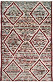 Barchi/Moroccan Berber Matto 193X300 Moderni Käsinsolmittu Vaaleanharmaa/Tummanpunainen (Villa, Afganistan)