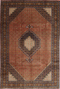 Ardebil Matto 195X289 Itämainen Käsinsolmittu Tummanruskea/Tummanpunainen (Villa, Persia/Iran)