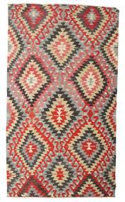 Kelim Semiantiikki Turkki Matto 170X298 Itämainen Käsinkudottu Vaaleanharmaa/Ruoste (Villa, Turkki)