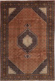 Ardebil Matto 198X295 Itämainen Käsinsolmittu Tummanpunainen/Tummanruskea (Villa, Persia/Iran)