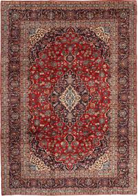 Keshan Matto 250X353 Itämainen Käsinsolmittu Tummanpunainen/Tummanruskea Isot (Villa, Persia/Iran)