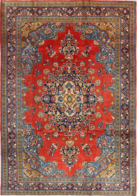 Wiss Matto 205X312 Itämainen Käsinsolmittu Tummanpunainen/Ruoste (Villa, Persia/Iran)