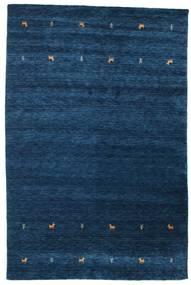 Gabbeh Loom Two Lines - Tummansininen Matto 190X290 Moderni Tummansininen (Villa, Intia)