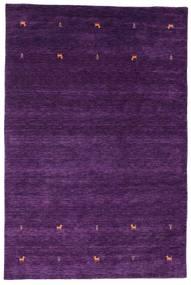 Gabbeh Loom Two Lines - Violetti Matto 190X290 Moderni Tummanvioletti/Violetti (Villa, Intia)