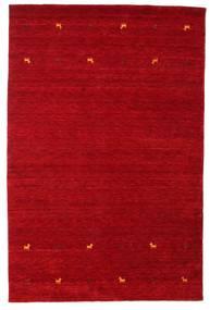 Gabbeh Loom Two Lines - Punainen Matto 190X290 Moderni Punainen/Tummanpunainen (Villa, Intia)