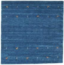 Gabbeh Loom Two Lines - Sininen Matto 200X200 Moderni Neliö Tummansininen/Sininen (Villa, Intia)